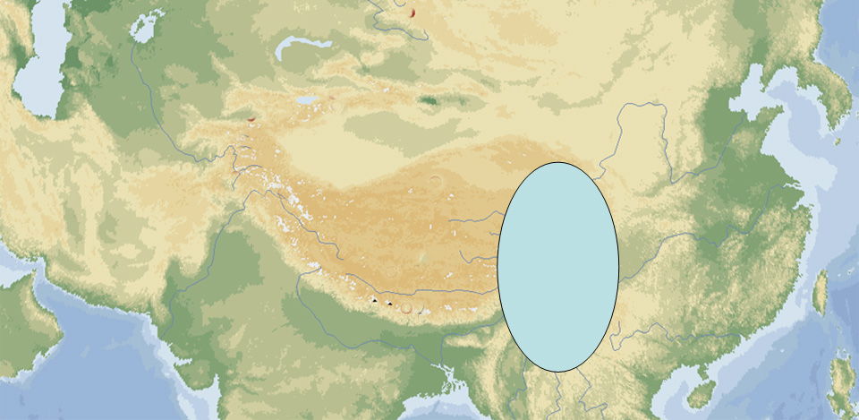 EUR-5 map sw china